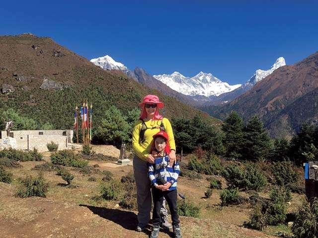 Mother-Son duo Payal and Advait Bharatiya