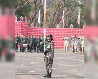 मिलिए, उस पहली महिला ऑफ़िसर से, जिसने इंडियन आर्मी कॉन्टेंजेंट का नेतृत्व किया