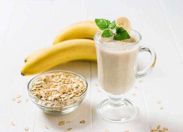 Creamy coconuts and cinnamon smoothie