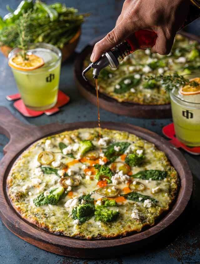 Pizza Green Dreams recipe