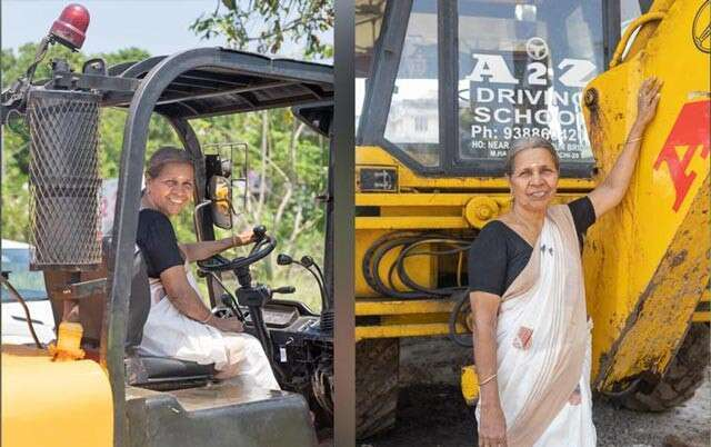 Meet Kerla woman who can drive over 20 types of heavy vehicl