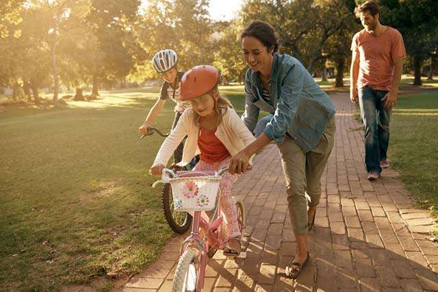 Teaching Your Child How to Ride a Bicycle