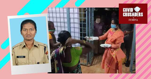 This Andhra Pradesh Cop Cooks and Feeds Migrant Workers Afte