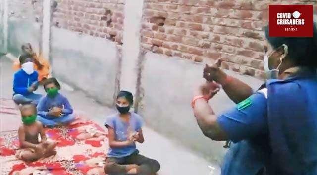 This Maharashtra Teacher Uses Nursery Rhymes to Raise COVID-