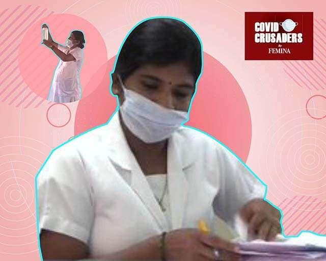 9 months pregnant nurse continues to serve covid-19 patients