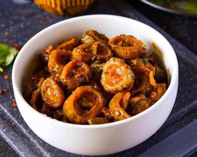 Easy sweet and sour karela