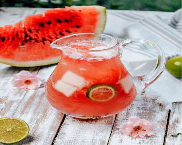 watermelon summer coolers