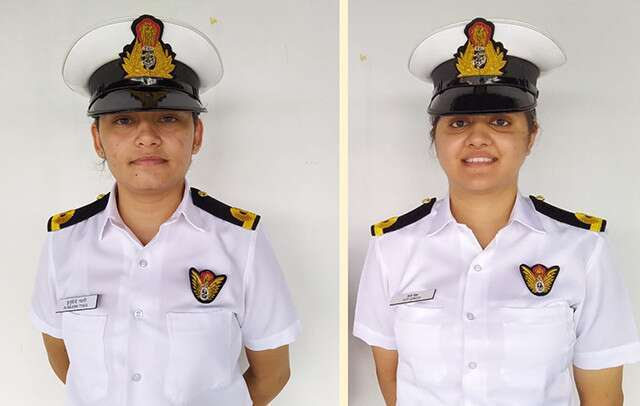 First time in history 2 women navy officers to be posted on Indian warship