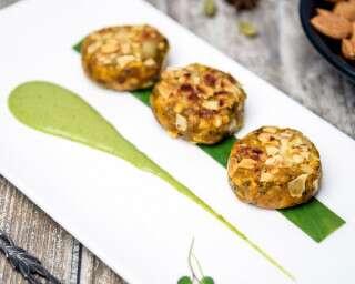 आमंड-पम्पकिन कबाब