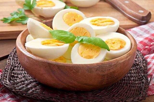वज़न बढ़ाने के लिए अंडा
