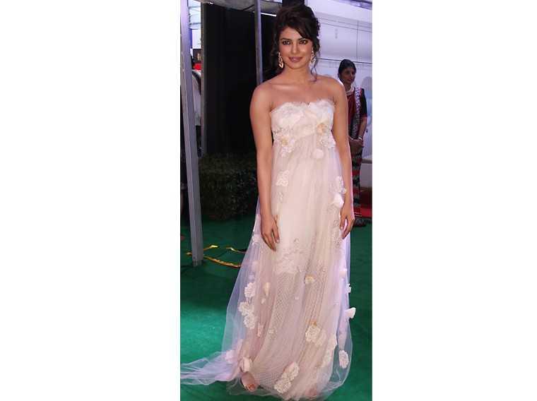 Priyanka Chopra gown
