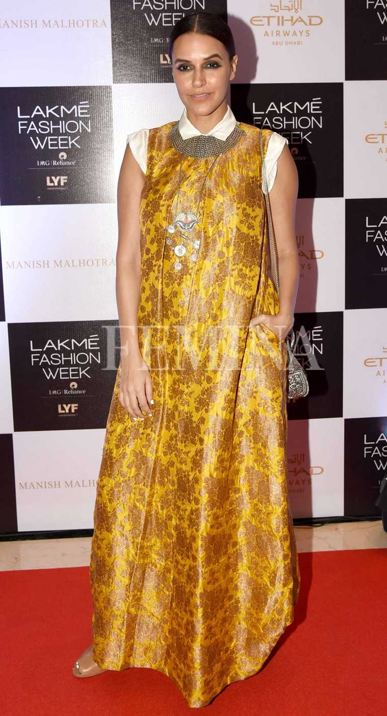 All the celebs at Lakme Fashion Week right now