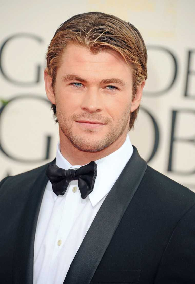 CHRIS HEMSWORTH You gotta love this Australian superstar for more reasons than one. Our top three reasons would be, A, that face! He has an easy smile and words sometimes fall short to describe how sexy he really is. B, he's got a body that rivals a Gre