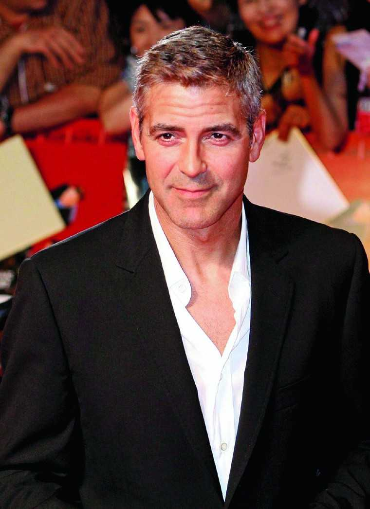 GEORGE CLOONEY There was a collective sigh of defeat from women worldwide when this gorgeous piece of work finally tied the knot. George Clooney evokes an almost old-world charm and sophistication that one must lament, is lost in men today. Add his salt a