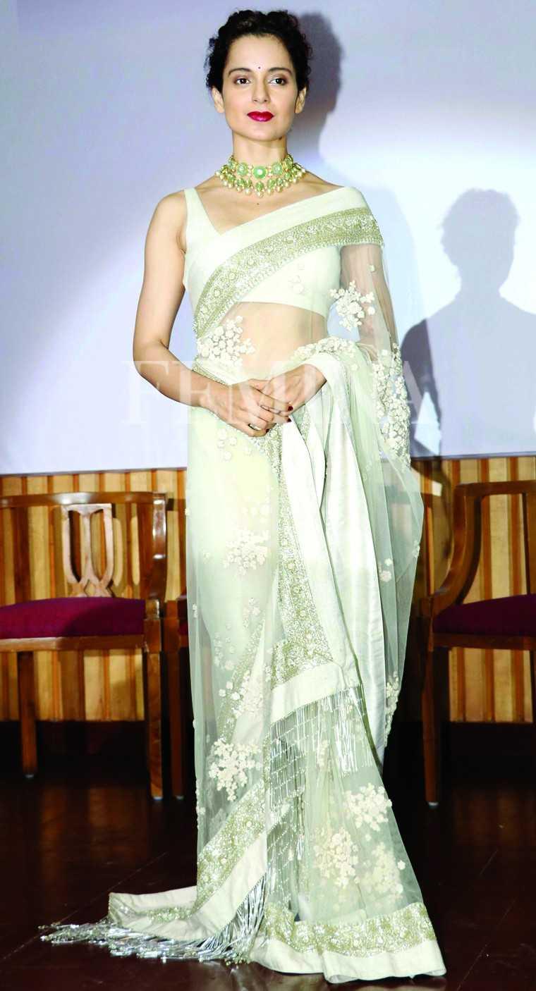 Here's a round-up of queen Kangana's top sari looks #sarinotsorry #sari #KanganaRanaut