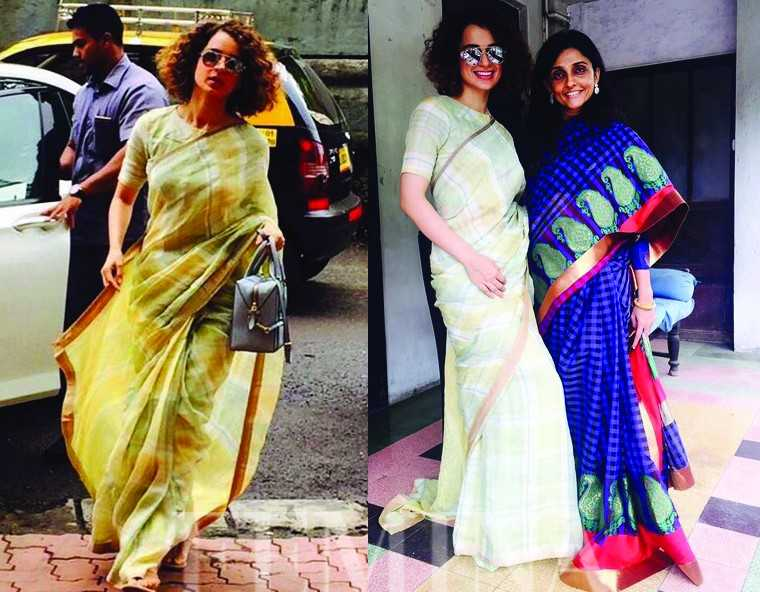 A round-up of KanganaRanaut's top sari looks (46)