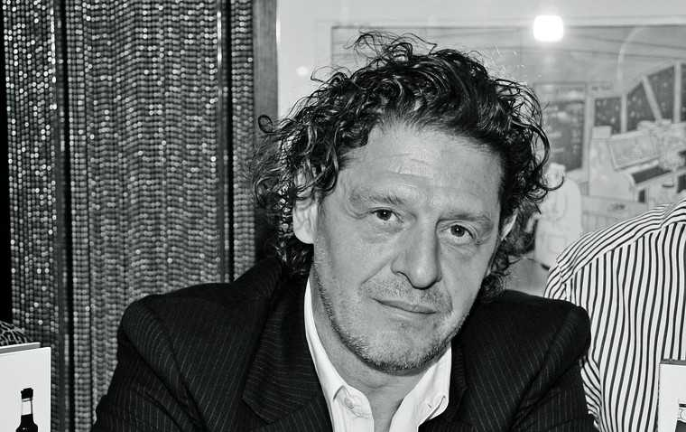 MARCO PIERRE WHITE Why is this enfant terrible considered so sexy? Maybe it's because he's the most legendary chef of this generation and was the youngest ever chef, at 33, to win three Michelin stars, only to give them back five years later! Perhaps