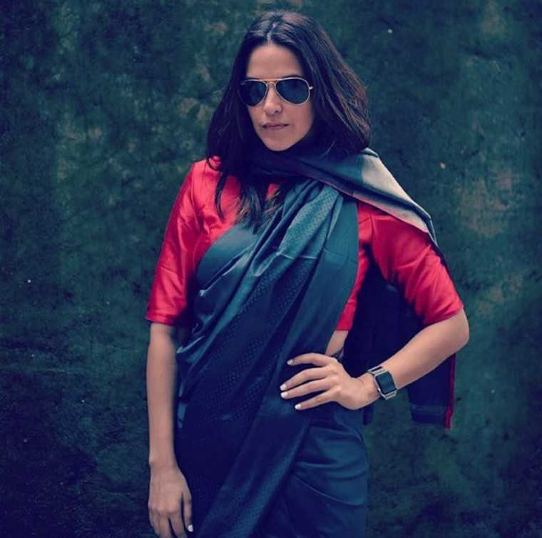 "NEHA DHUPIA: The actor posted this picture on Instagram with the moving message, ""In the midst of the #highfashion world ... Let's not forget where it all began… I stand for everything traditional, #Iwearhandloom"""