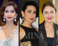Bollywood beauties love their red pouts