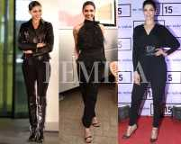 Deepika Padukone's top 7 all-black looks