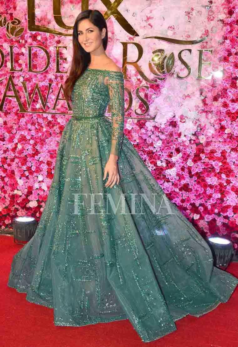 Katrina Kaif's lacy Zaid Nakad gown