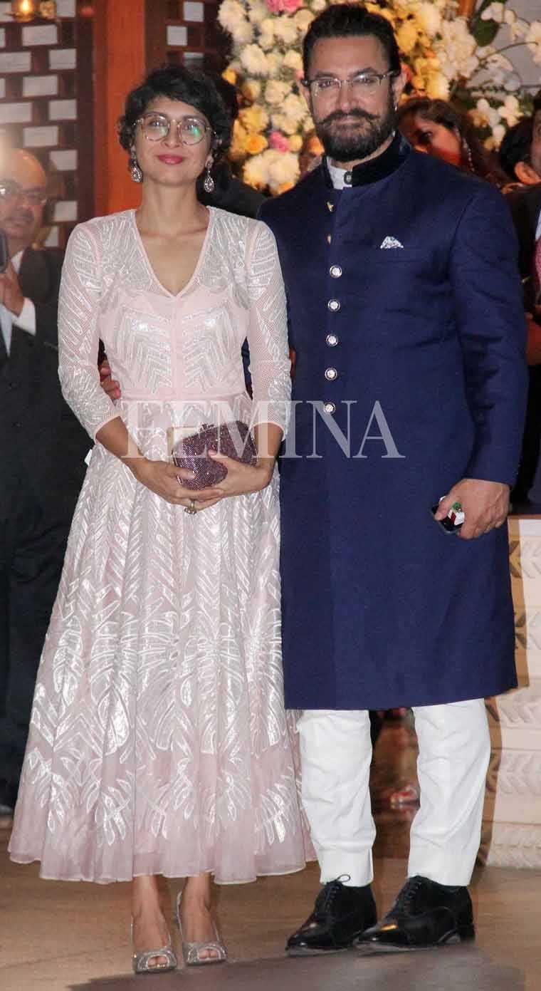 Aamir khan kiran rao ambani party