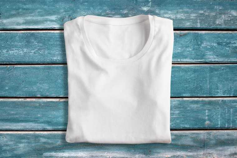 cotton t-shirt to dry hair