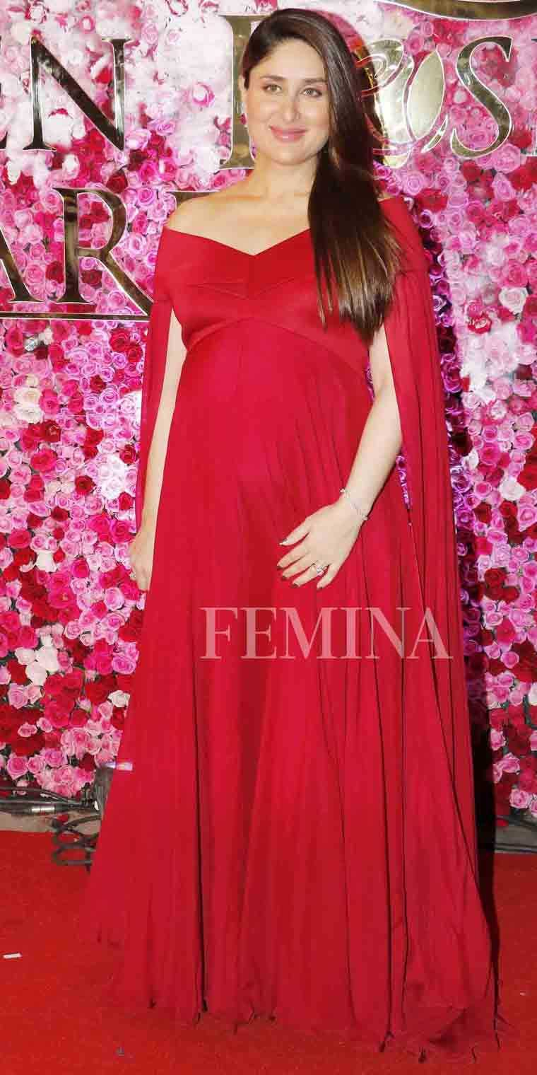 Kareena Kapoor Khan off-shoulder gown