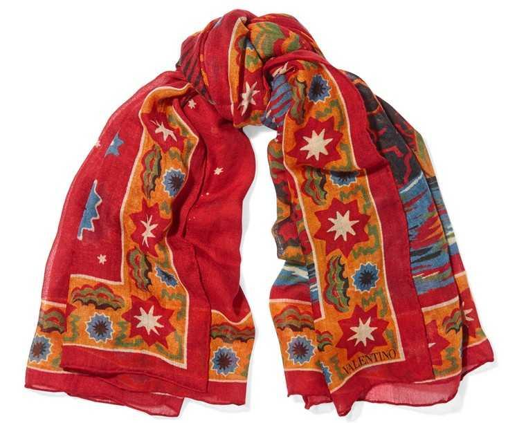 Zara Cashmere and silk blend scarf