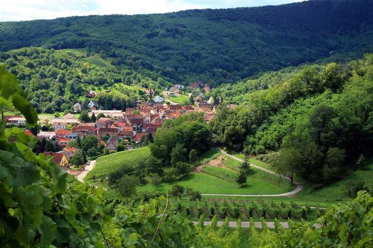 Route De Vins, France