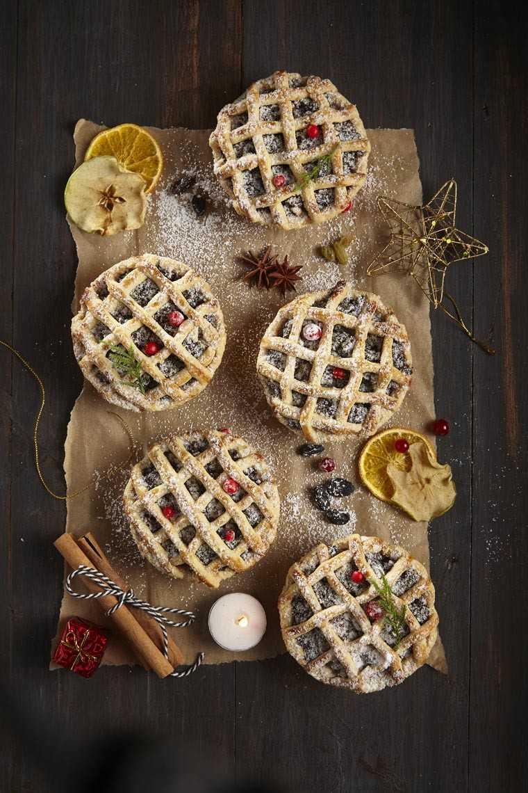 Fruit mince pie