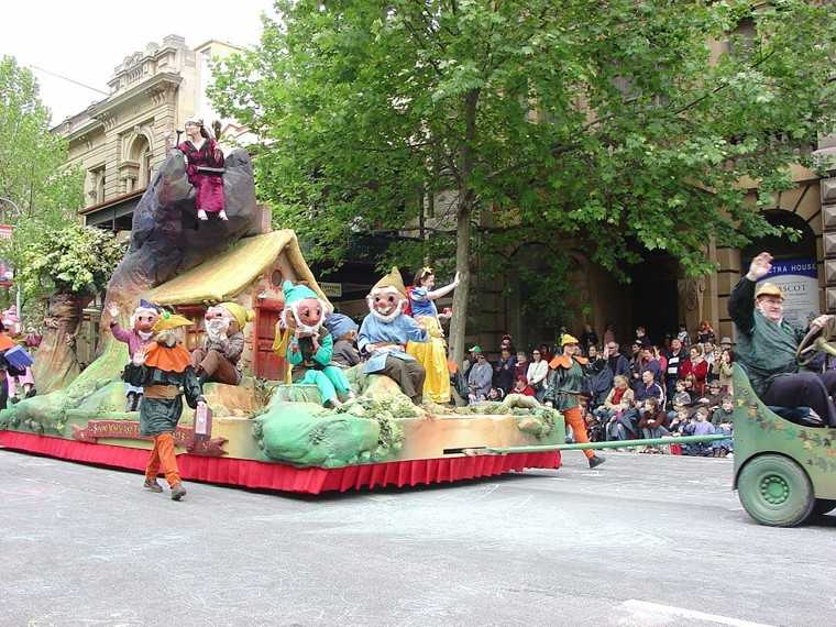 Christmas Pageant, Adelaide, Australia