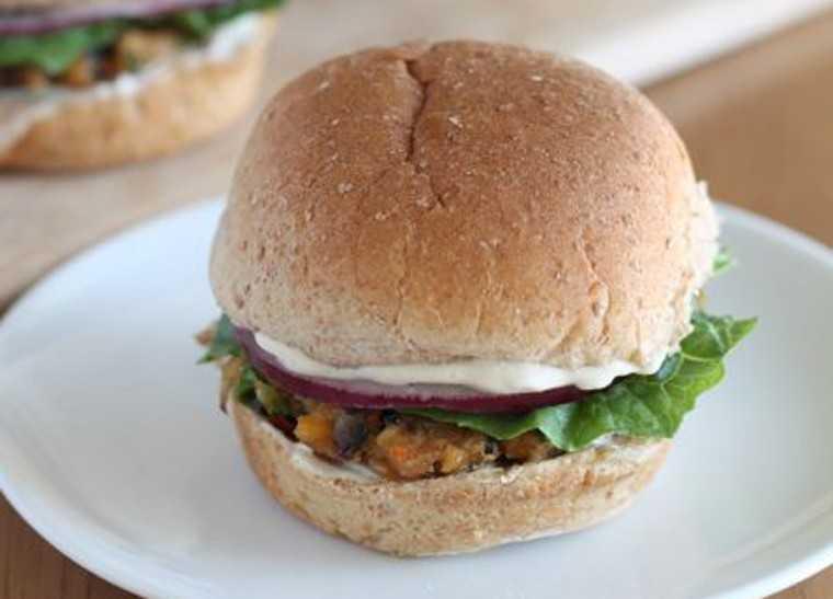 Oats/Quinoa veggie slider