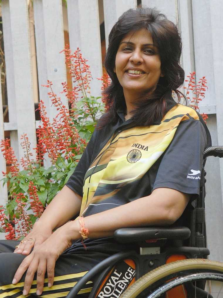 first Indian woman to win a medal at the 2016 Summer Paralympics