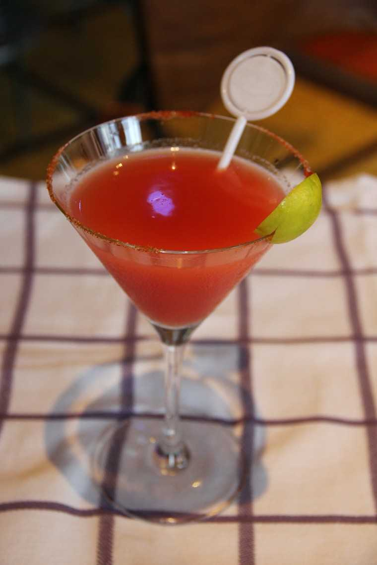 Guava mary mocktail