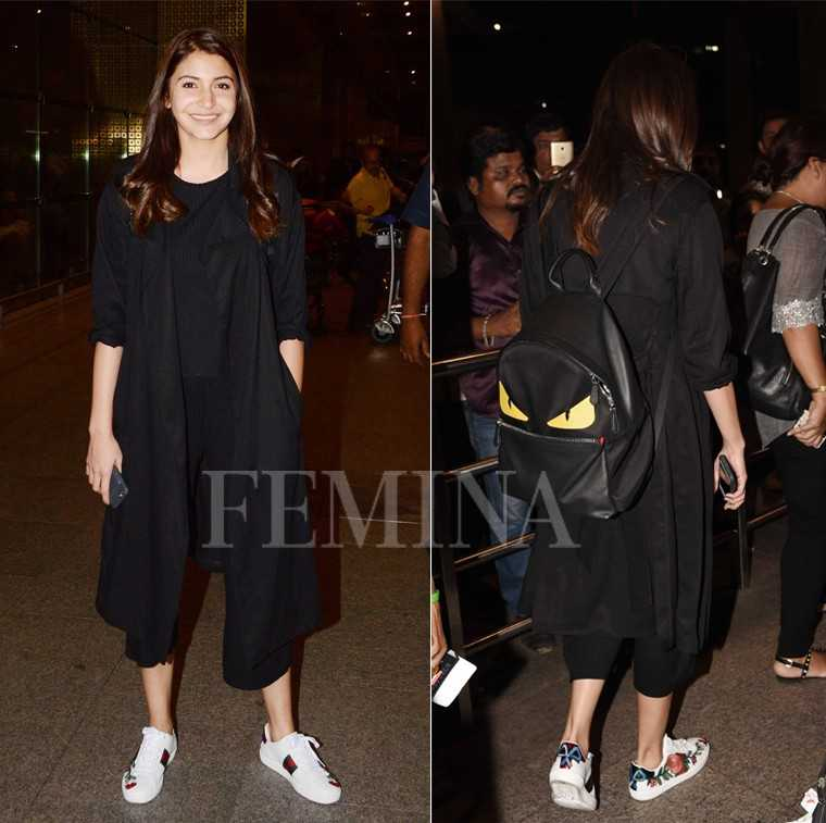Anushka Sharma Fendi backpack