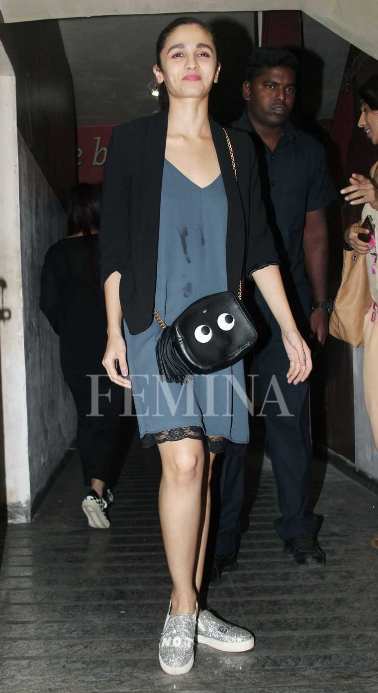Alia Bhatt Anya Hindmarch bag
