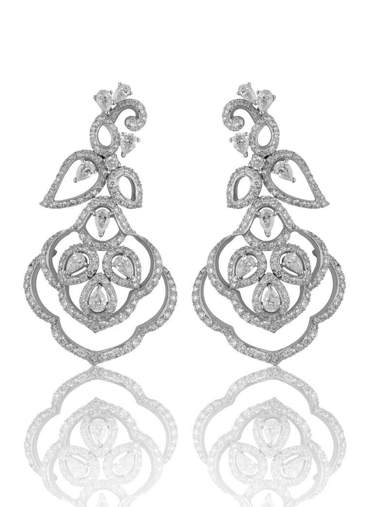 Diamond earrings-Mirari