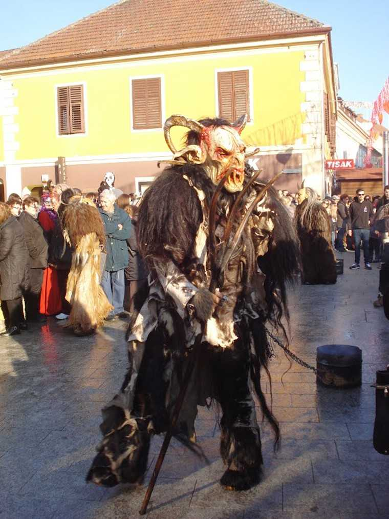 Krampus and Perchten Procession, Graz, Austria