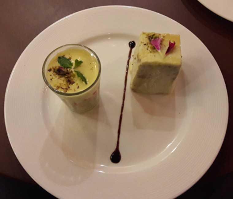 Cheese dessert