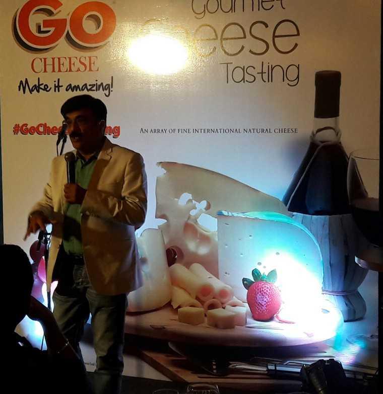Mahesh Israni of Go Cheese