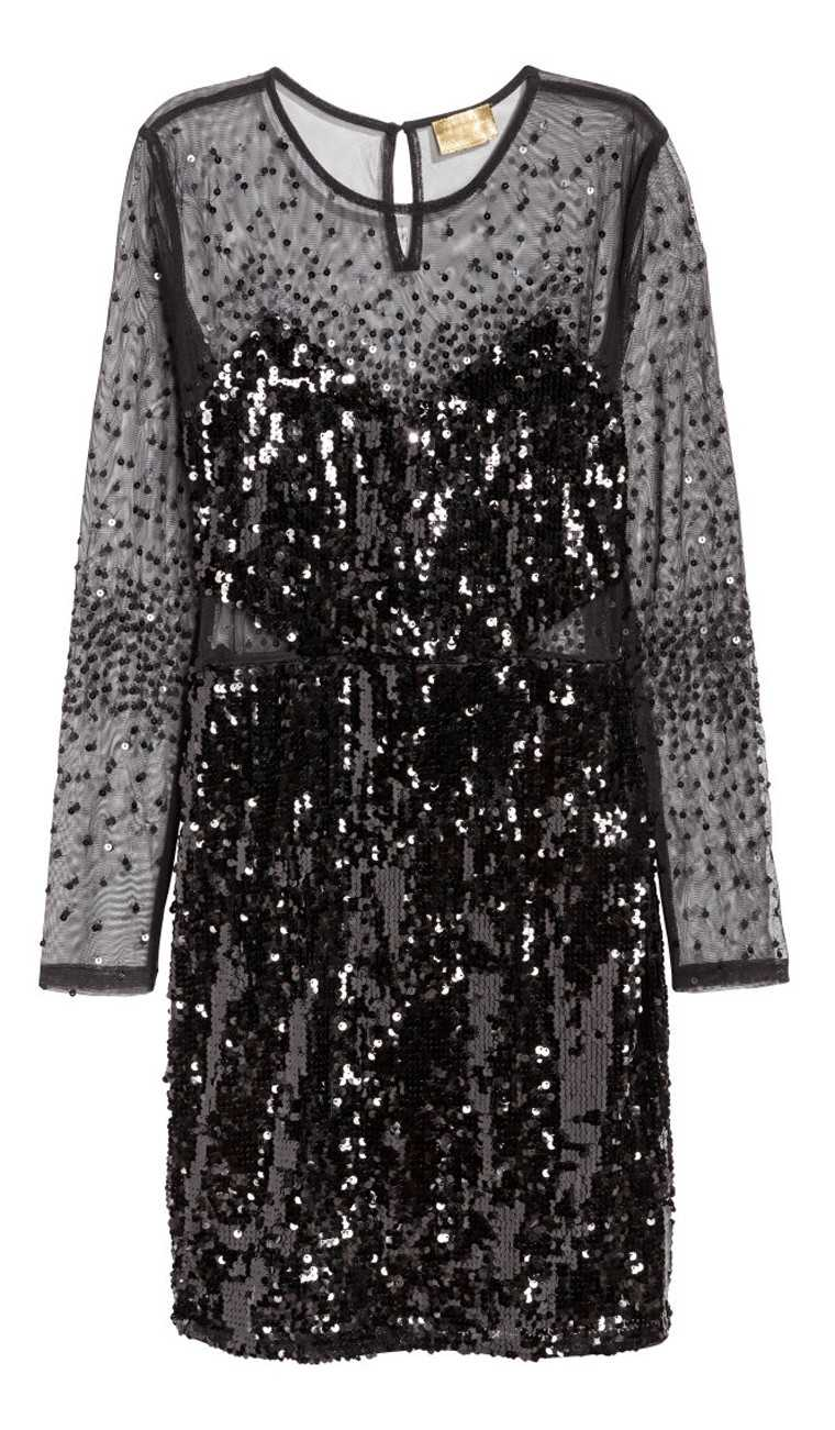 Shimmer-dress-sequins-H&M