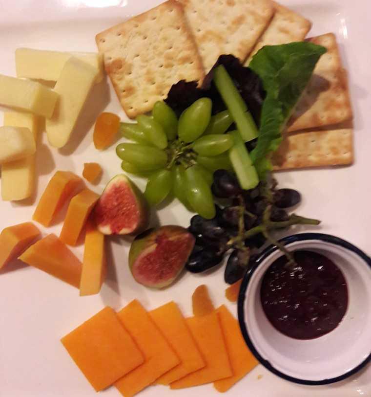 Go Cheese platter