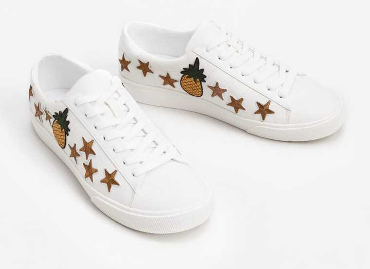 White-patchwork-sneakers-mango