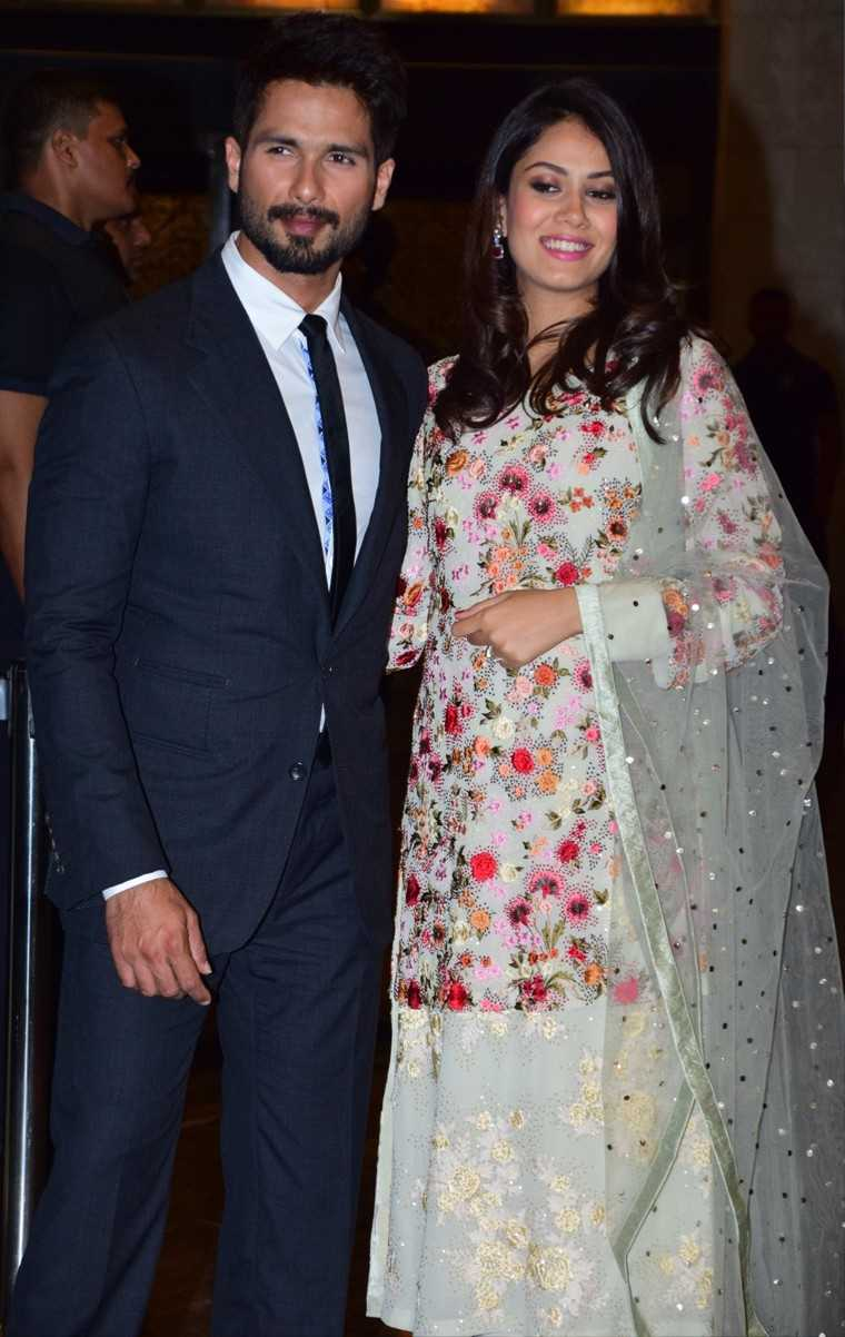 Shahid and Mira's one year of marriage in pictures