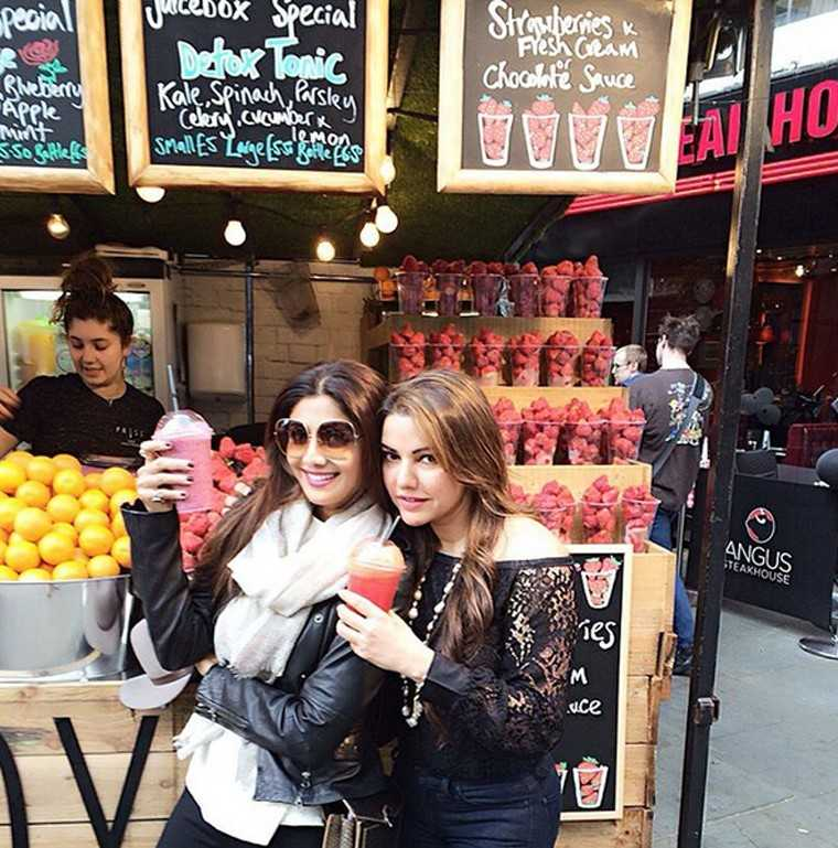 Shilpa Shetty Shilpa Shetty puts on her vacation shades in London, where she spent the summer.
