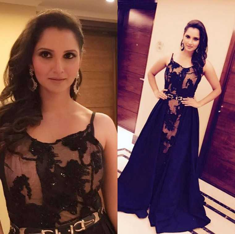 Acing the fashion game: Sania Mirza's style diary