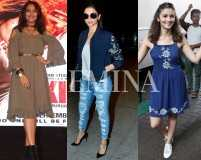 Deepika, Alia and Sonakshi love their high street brands