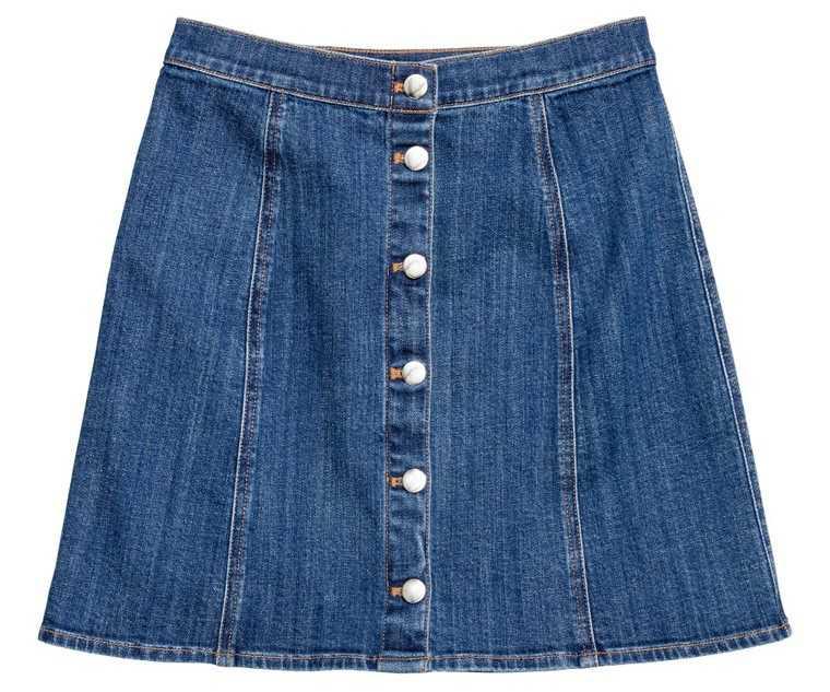 Denim-skirt-HM