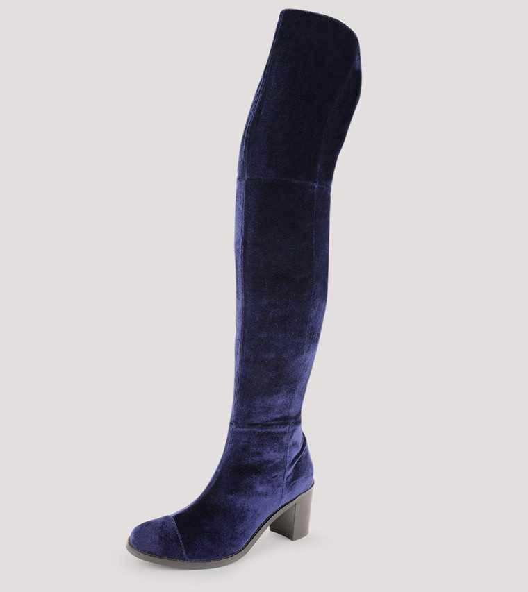 Thigh-high boots